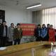 吕总与扬州大学获奖学子及院领导合影